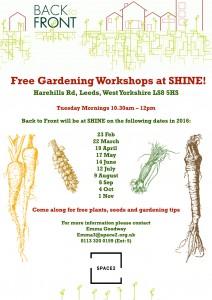 SHINE Free Workshops