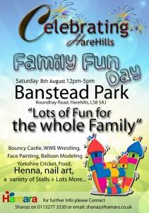 Celebrating Harehills poster